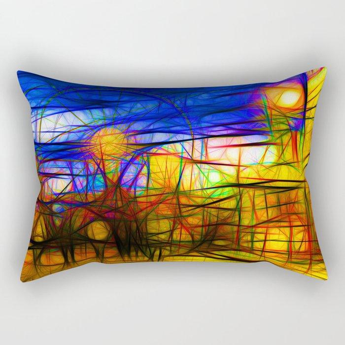 Fairground Rectangular Pillow