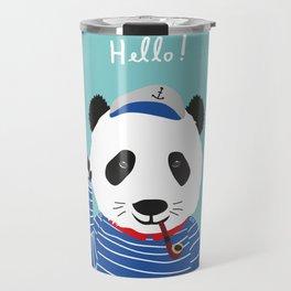Mr. Panda Seaman Travel Mug