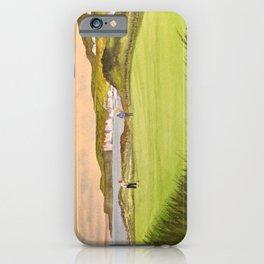 Royal Portrush Golf Course 5th Hole iPhone Case