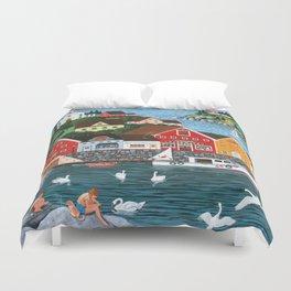 Swan's Cove Duvet Cover