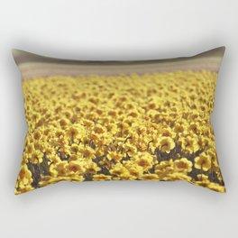 Narcissus field #2 Rectangular Pillow