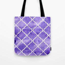 curvy purple pattern Tote Bag