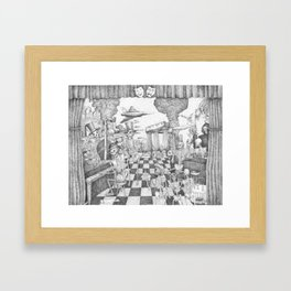 Don't Worry Be Happy 3 (Who Forgets The Past Is Condemned To Repeat It) Framed Art Print