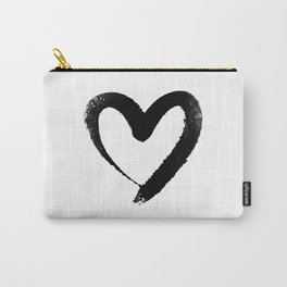 Ink Heart Minimal Fashion Stylish Carry-All Pouch