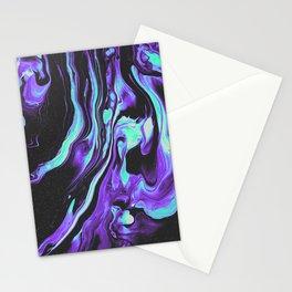 BLACK & BLUE DEVOTION Stationery Cards