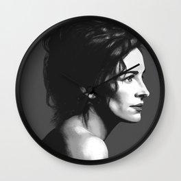Julia Roberts Portrait Wall Clock