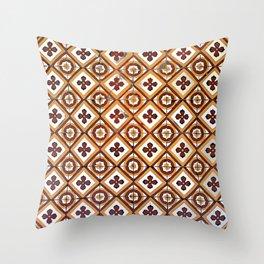 Floor Series: Peranakan Tiles 10 Throw Pillow