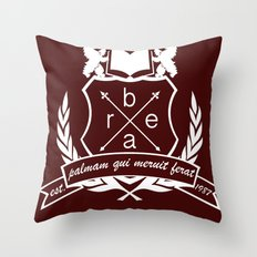 Academic Crest Throw Pillow