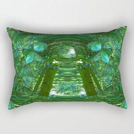 Abstract Gazebo Rectangular Pillow
