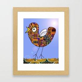African Bird Framed Art Print