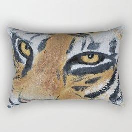 Tiger Eyes 2 Rectangular Pillow