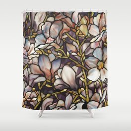 Louis Comfort Tiffany - Decorative stained glass 10. Shower Curtain