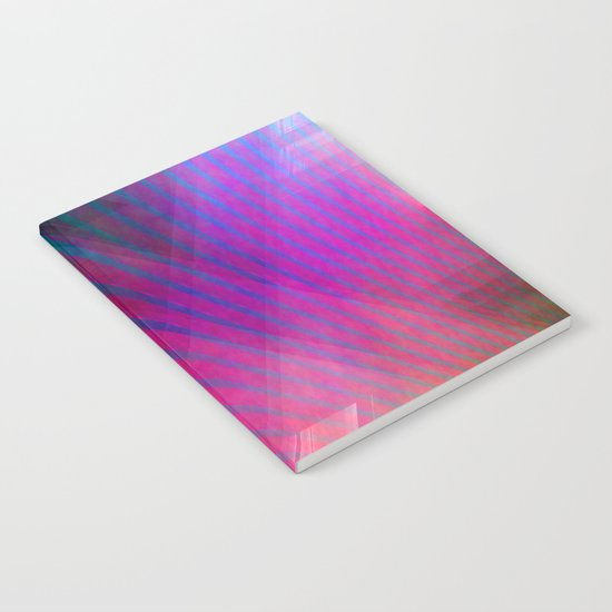 Multicolored abstract no. 43  Notebook
