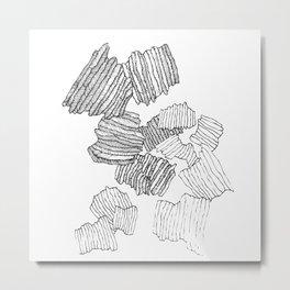 Greece,Rhodes Landscape Metal Print