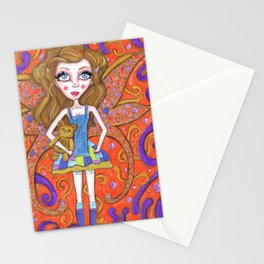 Doll Baby Stationery Cards