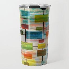 Mid-Century Modern Art 1.3 -  Graffiti Style Travel Mug