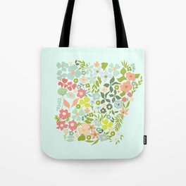 Arkansas Florals Tote Bag