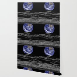 Earth from the moon Wallpaper