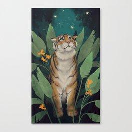 Tiger Grove Canvas Print