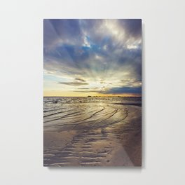 Gulf Coast Shoreline Metal Print