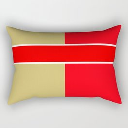 Team Colors 6...red,gold Rectangular Pillow