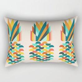 Groovy Pineapple Rectangular Pillow