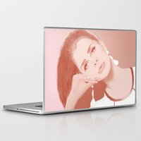 ultraviolence Laptop & iPad Skins featuring LANA by Itxaso Beistegui Illustrations