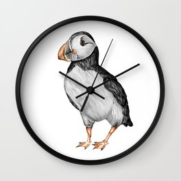 Little Puffin Wall Clock