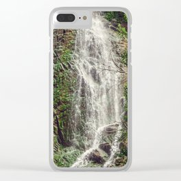 Feel the Cleansing Clear iPhone Case