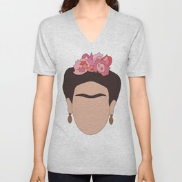Fierce Frida Unisex V-Neck