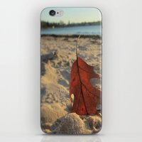 sand iPhone & iPod Skins featuring Sand by Jillian Stanton