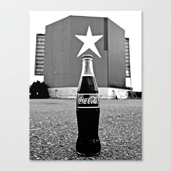 Star-Lite Coke Canvas Print