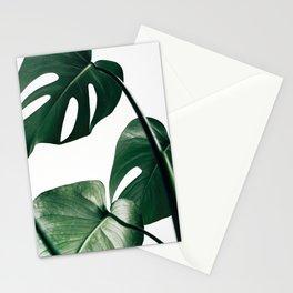 Monstera Leaf Print, Botanical Print, Botanical Art Stationery Cards