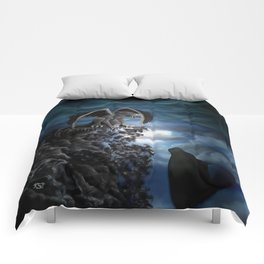 Wolfmoon , Wolf with Golem Comforters