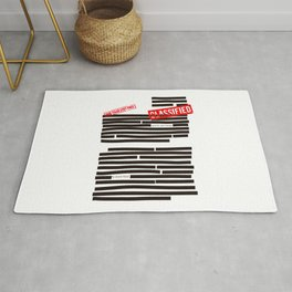 Censored text (Classified information) Rug