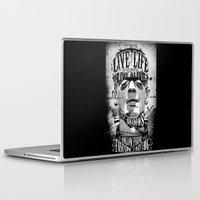 frankenstein Laptop & iPad Skins featuring Frankenstein by Jared Andolsek