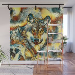 AnimalArt_Wolf_20170601_by_JAMColorsSpecial Wall Mural
