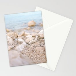 Three steps from the ocean | Croatia travel sea photography | Pastel tones Stationery Cards