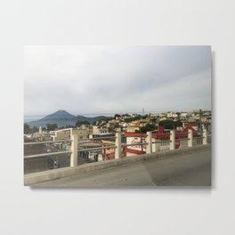 Guate City Metal Print