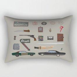 Supernatural (2015) Rectangular Pillow