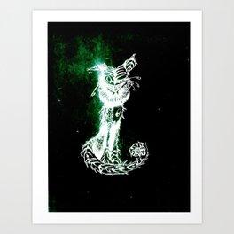 chesire cat 2 Art Print