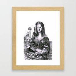 Eggilisa Framed Art Print