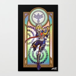 Sage of Time Canvas Print