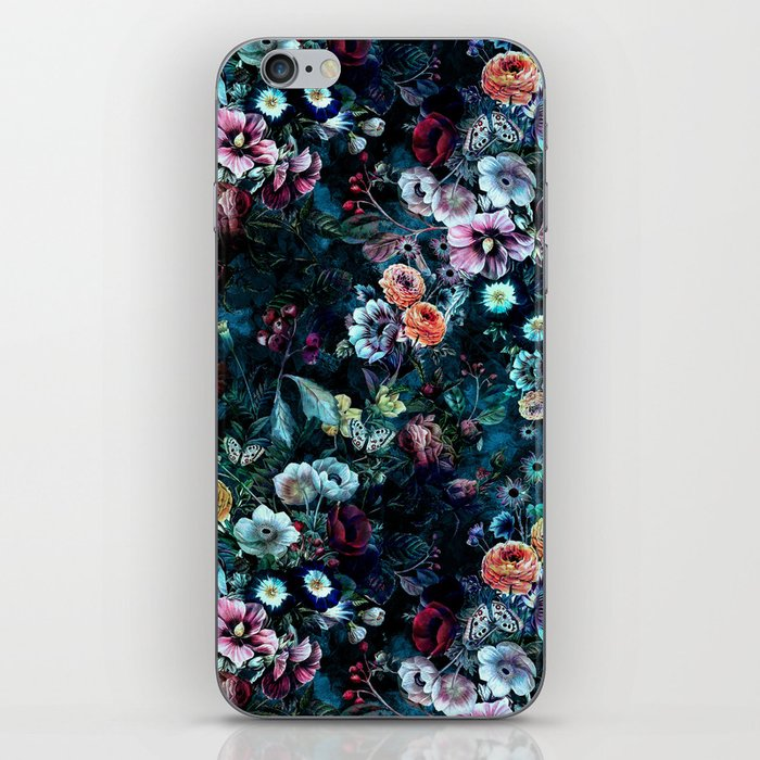 Night Garden iPhone Skin