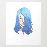 LADY A Art Print