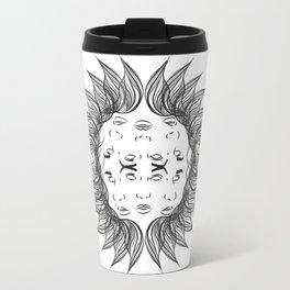Symmetrical Sun Travel Mug