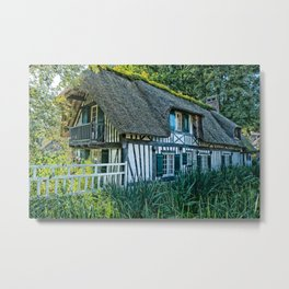french cottage Metal Print