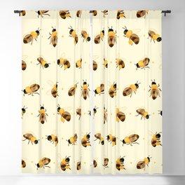 Honey bees Blackout Curtain