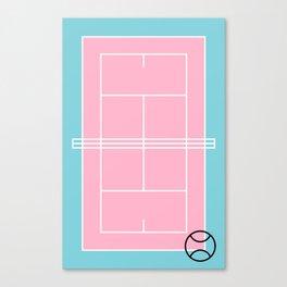 Court / Tennis Canvas Print