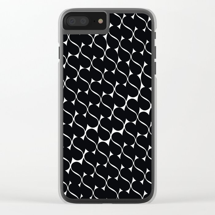 PATTERN 20 Clear iPhone Case